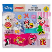 Disney puzzle melissa doug disney minnie mouse and friends wooden chunky puzzle 8 gumiabroncs Images