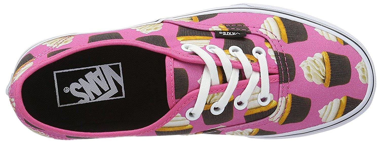 4eefe4ffebc85b Vans - Vans Authentic Late Night Hot Pink   Cupcakes Ankle-High Canvas  Skateboarding Shoe - 7.5M 6M - Walmart.com
