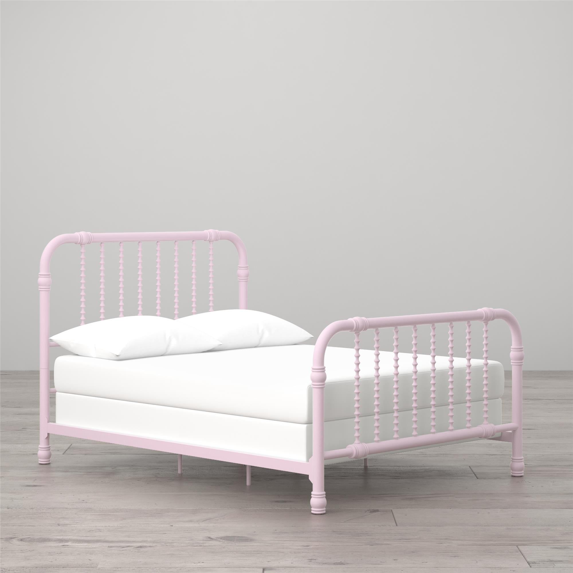 Little Seeds Monarch Hill Wren Metal Bed Full, Pink - Walmart.com