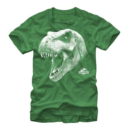 Jurassic World Men's T. Rex Roar T-Shirt (Roaring 20s Mens Clothing)