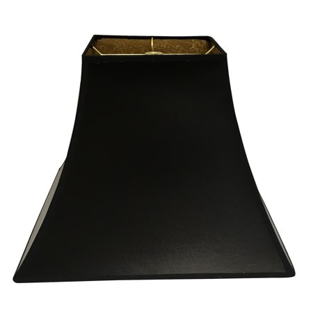 Black Square Bell Hardback Lamp Shade