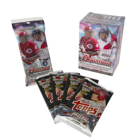 18 Topps Bowman Mlb Baseball Bundle Trading Cards Walmart Exclusive