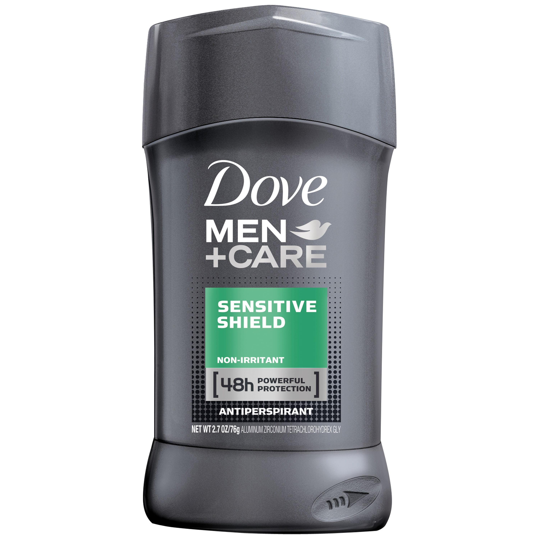 Dove Men+Care Antiperspirant Deodorant Stick Sensitive Shield 2.7 oz