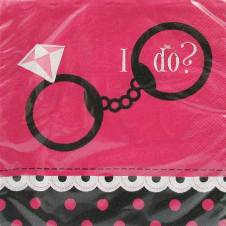 Bachelorette 'I Do?' Small Napkins (16ct) (Bachelorette Napkins)