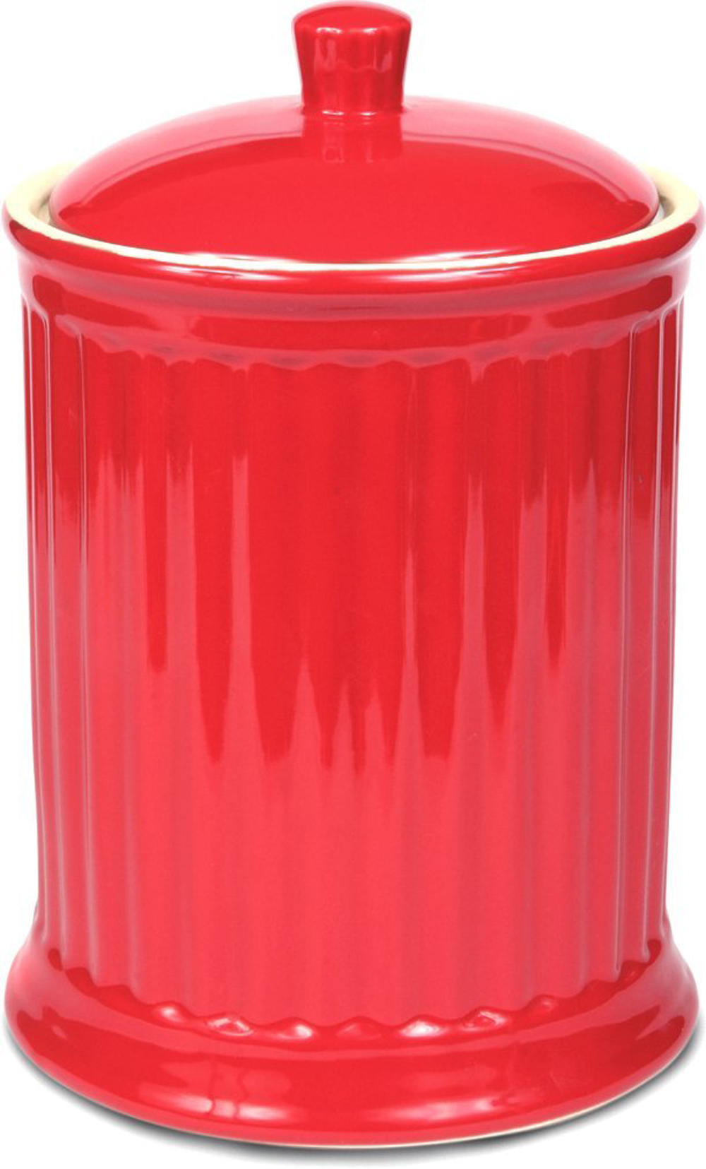 Click here to buy Omni Simsbury Extra Large Canister   Cookie Jar Red by Omniware.