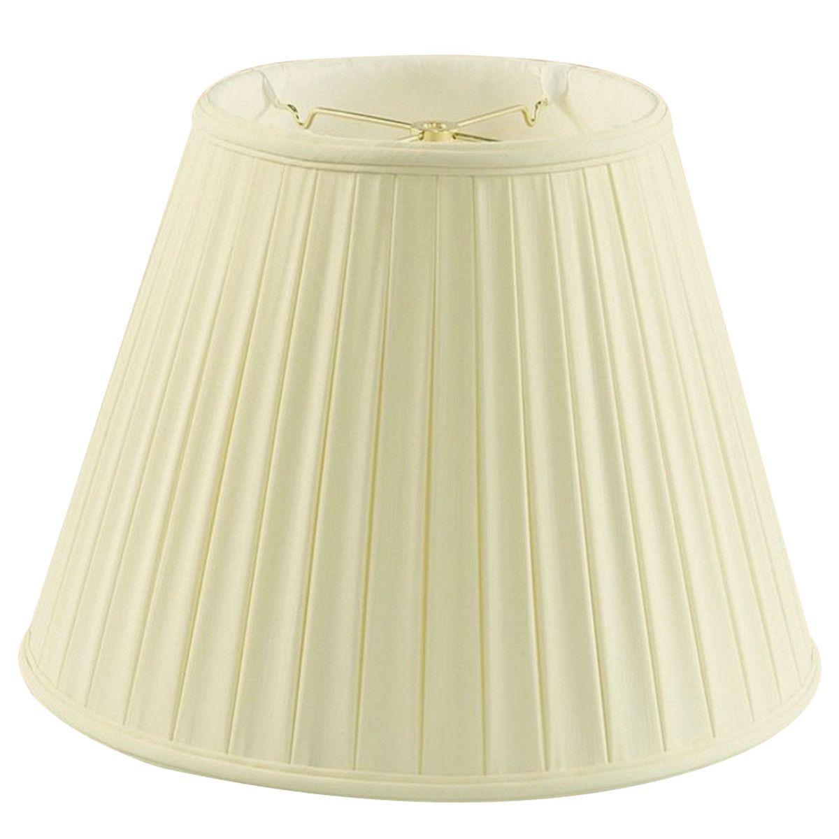 Home Concept Inc 18'' Classics Box Pleat Deluxe Shantung Empire Lamp Shade
