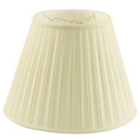 Home Concept Inc 18'' Classics Box Pleat Deluxe Shantung Empire Lamp Shade