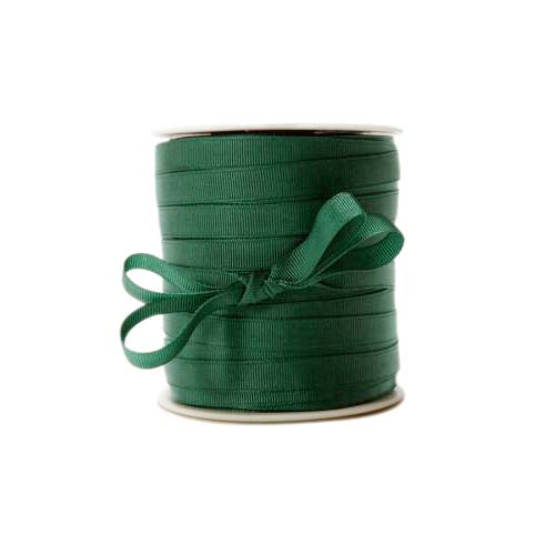 "Scrapbooking Grosgrain Ribbon 3/8 Inch ""Green"" (5 Yards)"