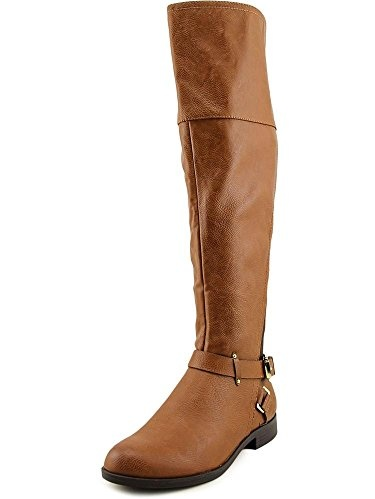 Bar III Dolly 3 Women  Round Toe Synthetic Blue Knee High Boot