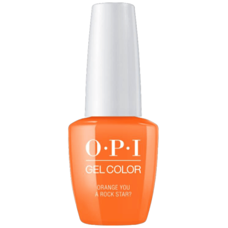 OPI Nail GelColor Gel Polish NEON Color .5oz/15mL - Orange You A Rock Star?