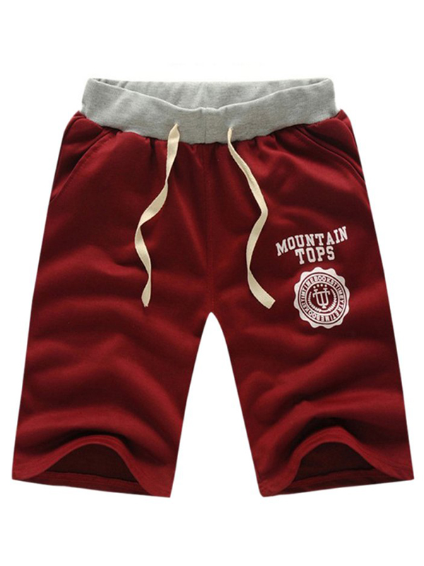 Mens Classic Fit Sports Pants Night Jogger Gym Cotton Short