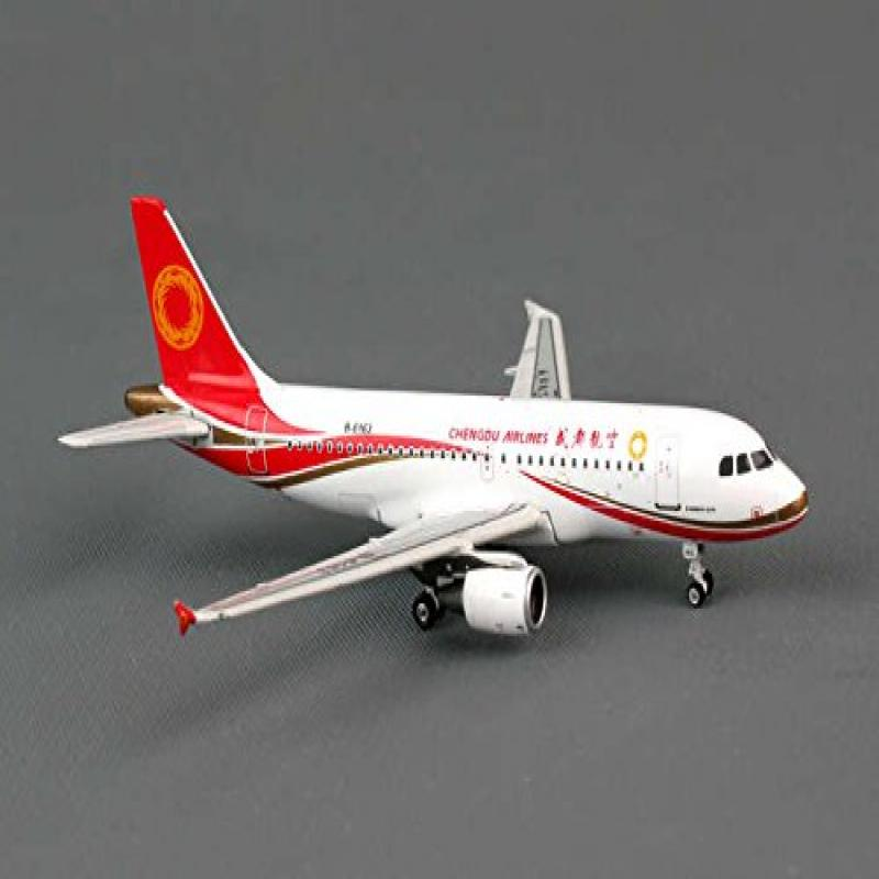PH4UEA1141 Phoenix Chengdu Airlines A-319 Model Airplane by