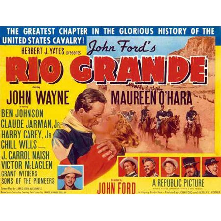Rio Grande - movie POSTER (Style B) (11