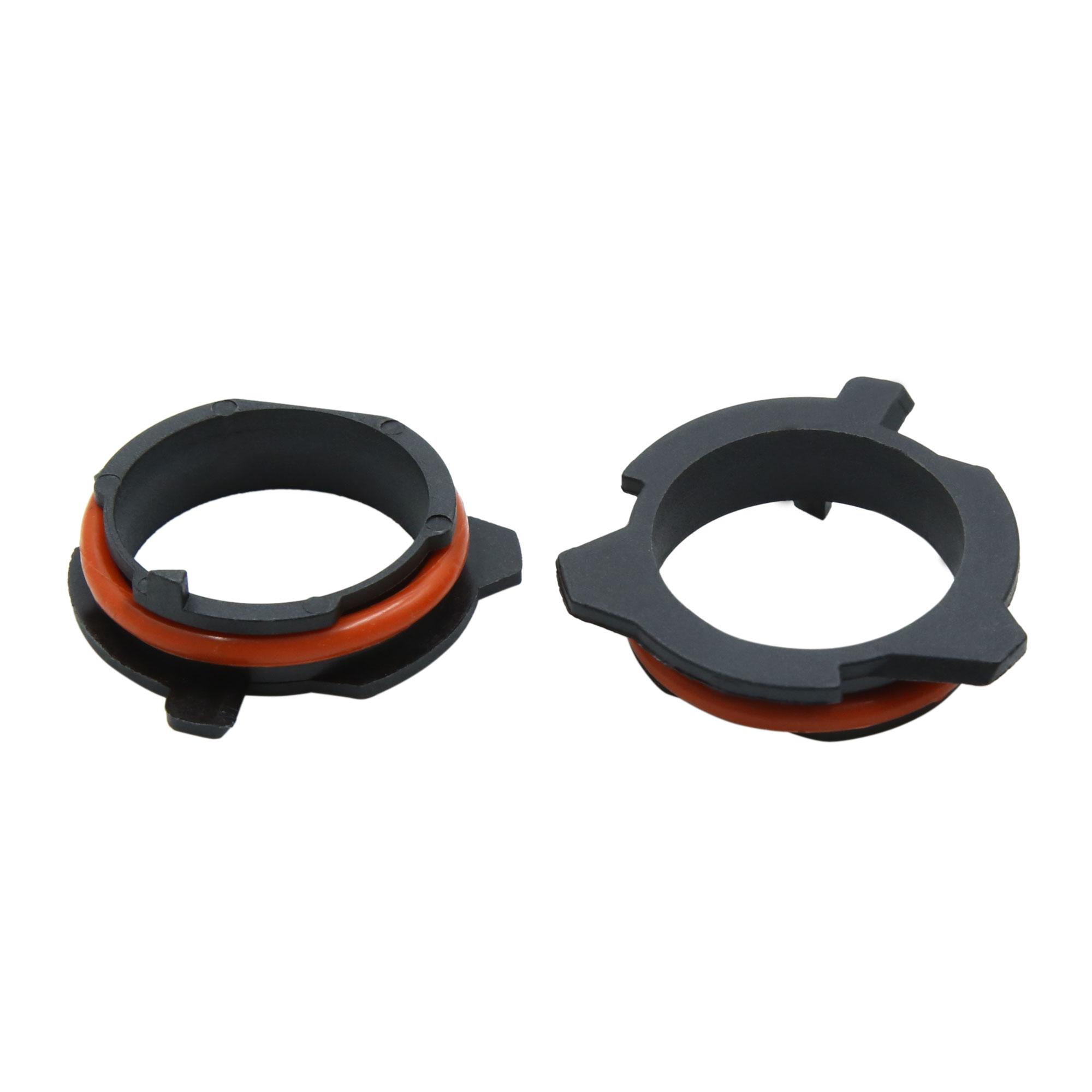 2pcs H7 Headlight Holder Bulb Retainer Aadpter for BMW E39 5 Series - image 1 de 3