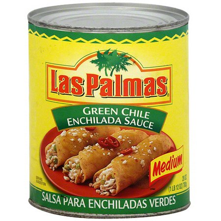 Las Palmas Green Chile Enchilada Sauce, 28 oz (Pack of