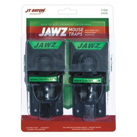 Jt Eaton 409 7-1/2 In. L Mouse Trap, 5-1/4 In. W - Pack of 2