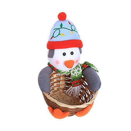 Halloween Candy Baskets (Christmas Decoration Large Size Candy Basket Desktop Decoration Children's Candy)