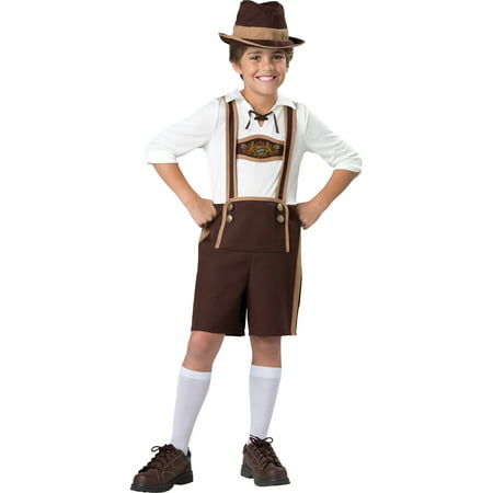 Bavarian Guy Child Halloween Costume - Nerd Costume Guy
