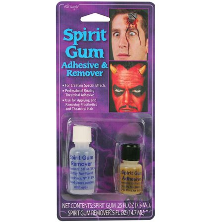 Spirit Gum with Remover Halloween - Halloween Makeup Tips Cuts