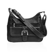 Fashion Buckle Leather Shoulder Bag