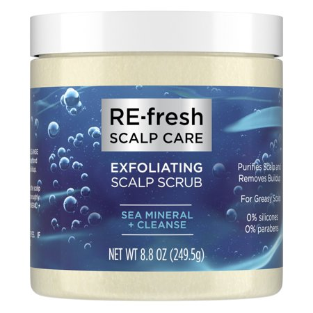 RE-Fresh Scalp Care Exfoliating Scalp Scrub Sea Mineral + Cleanse 8.8 oz