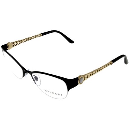 Average Eyeglass Frame Size : Bvlgari Prescription Eyeglasses Frame Women Semi Rimless ...