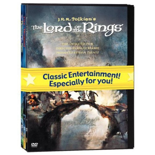 J.R.R. Tolkien Animated Films Set (The Hobbit The Lord of the Rings The Return of the King) by