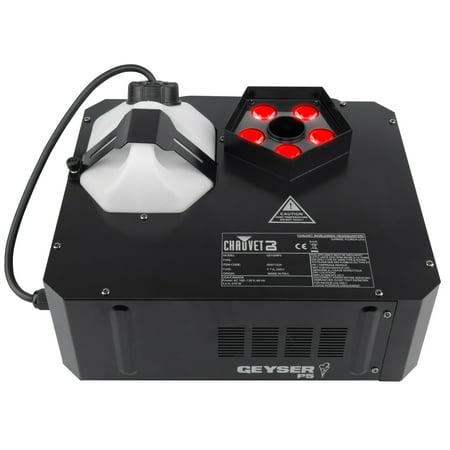 Chauvet DJ Geyser P5 5-LED RGBA+UV Vertical Fog Machine - Halloween Geysers