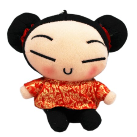 Pucca Menu Traditional Dress Mini Size Stuffed Toy -