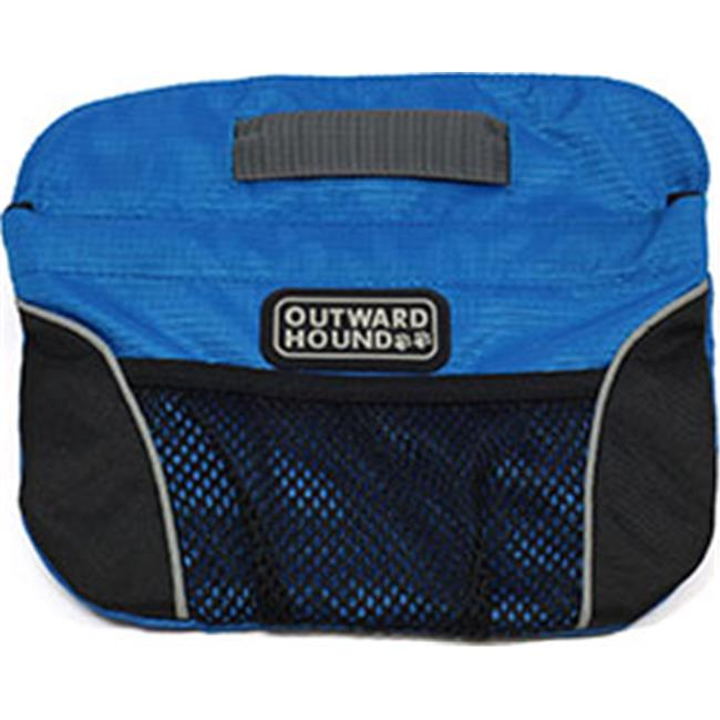 Kyjen 203270 Outward Hound Quick Access Treat N Train Bag, Blue & Black - One Size
