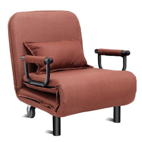 Fine Costway Convertible Sofa Bed Folding Arm Chair Sleeper Leisure Recliner Lounge Couch Ocoug Best Dining Table And Chair Ideas Images Ocougorg