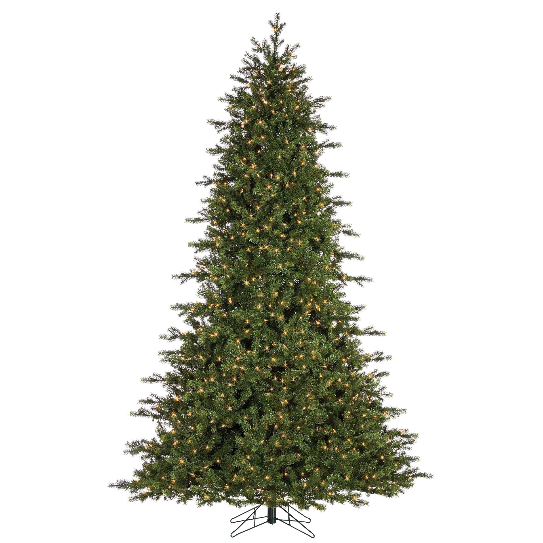 Gerson 7.5Ft. Pre-Lit Natural Cut Lexus Pine with 1200 Clear Lights