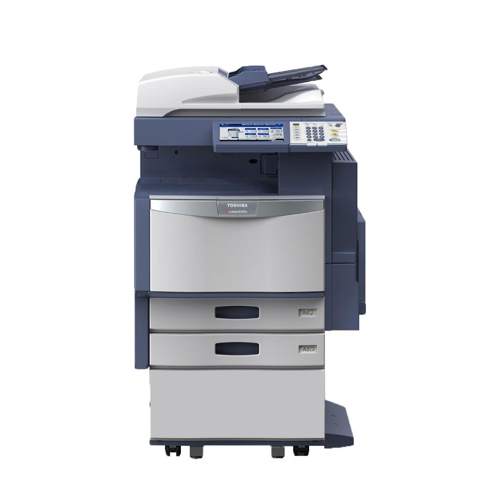 Refurbished Toshiba E-Studio 3040C A3 Color Laser Multifunction Copier - 30ppm, Copy, Print, Scan, Auto Duplex, Network-Ready, 600 x 600 dpi, 2 Trays, Cabinet