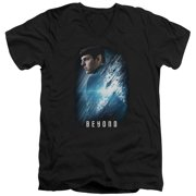 Star Trek Beyond Spock Poster Mens V-Neck Shirt