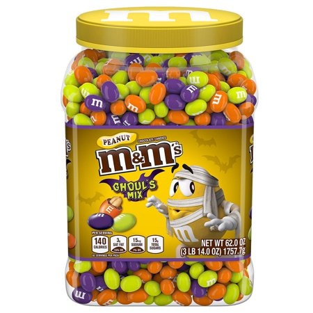 Halloween Mix Zippy (M&M'S Ghoul's Mix Peanut Chocolate Halloween Candy (62)