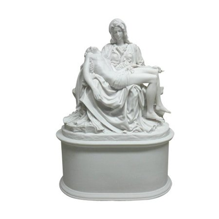 The Pieta Statue Urn Box  Holy Christian Cremation Urn  Christianity  Funeral Supply