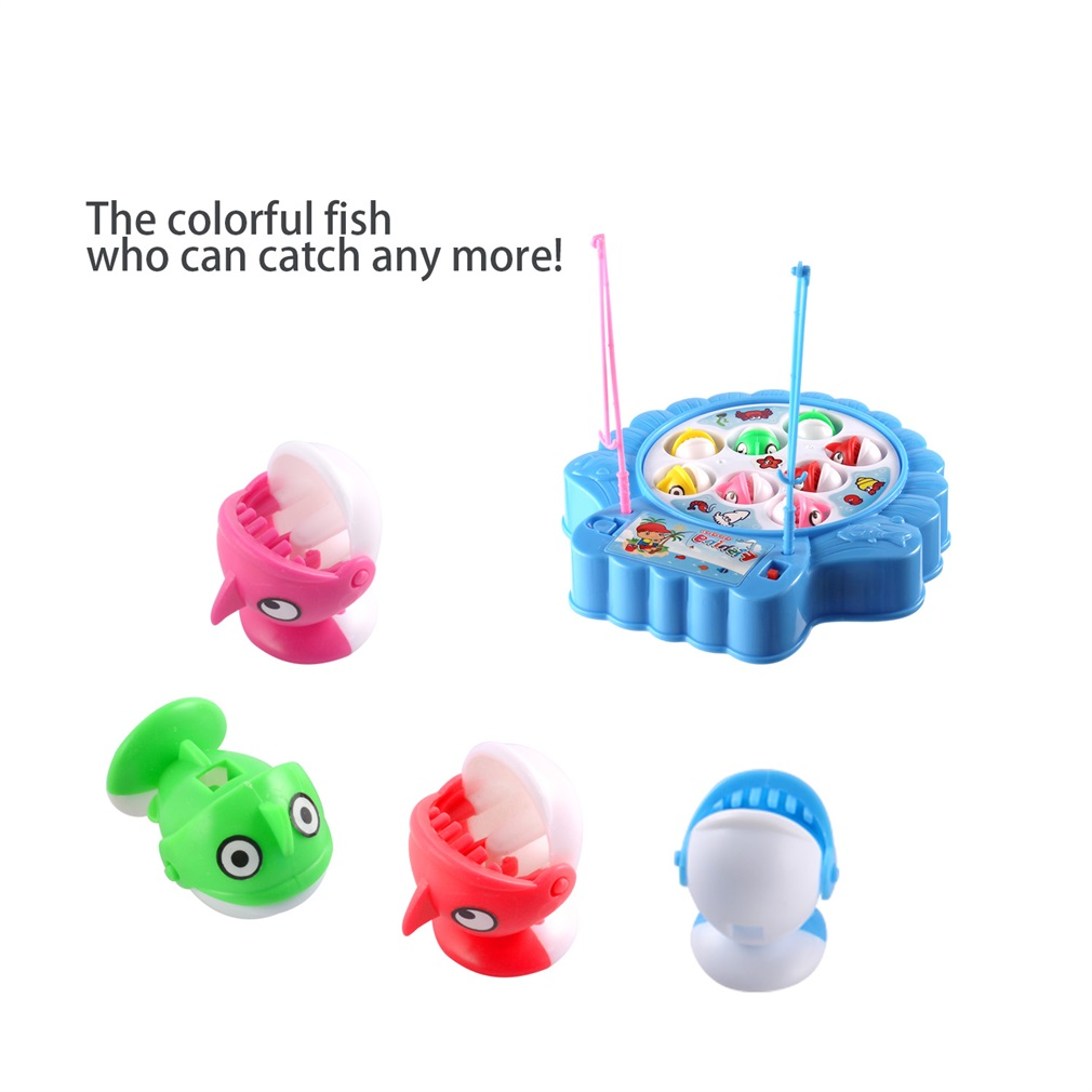 ishing Game Toy for Toddlers - Alphabet Fish Catching ...
