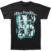 Three Days Grace Men's  Screaming Squares Tour T-shirt Black