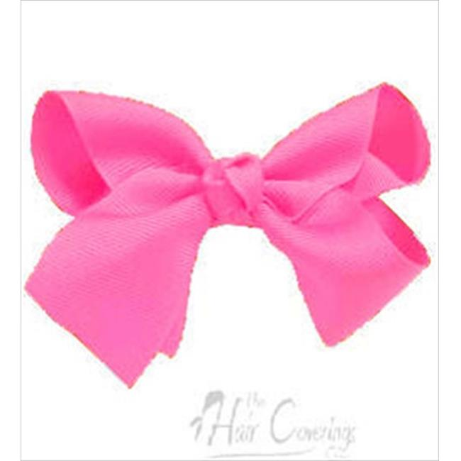 CoverYourHair 60330 Hot Pink Large Girl Bow Hair Clip
