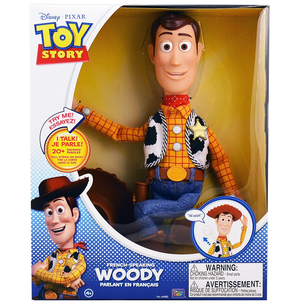 Disney Pixar Toy Story FRENCH-Speaking Woody by Toy Story