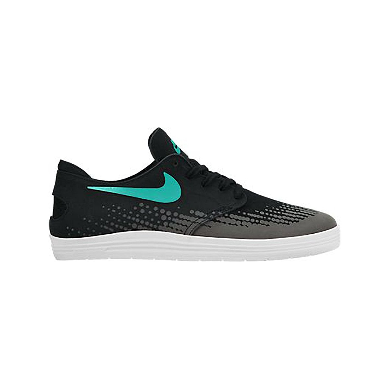 Nike Lunar Oneshot Skate Shoe - Men's Black/White/Light Retro