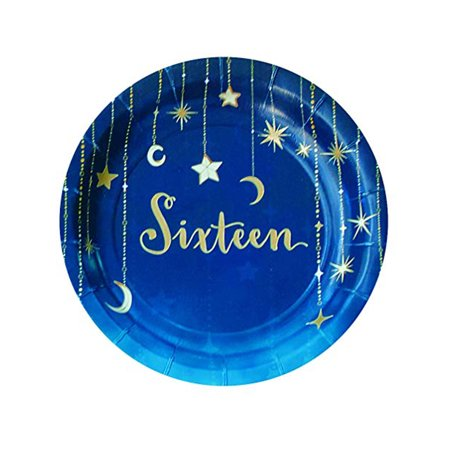 Sweet 16 Starry Night Themed Girls Birthday Party Decorations And - Sweet 15 Themes