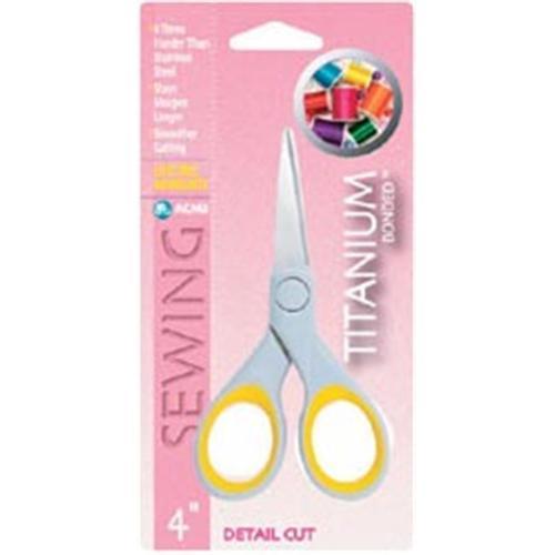 Acme 83839 Titanium Detail Cut Scissors 4 inch