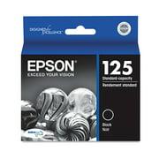 Epson 125 Standard-capacity Black Ink Cartridge