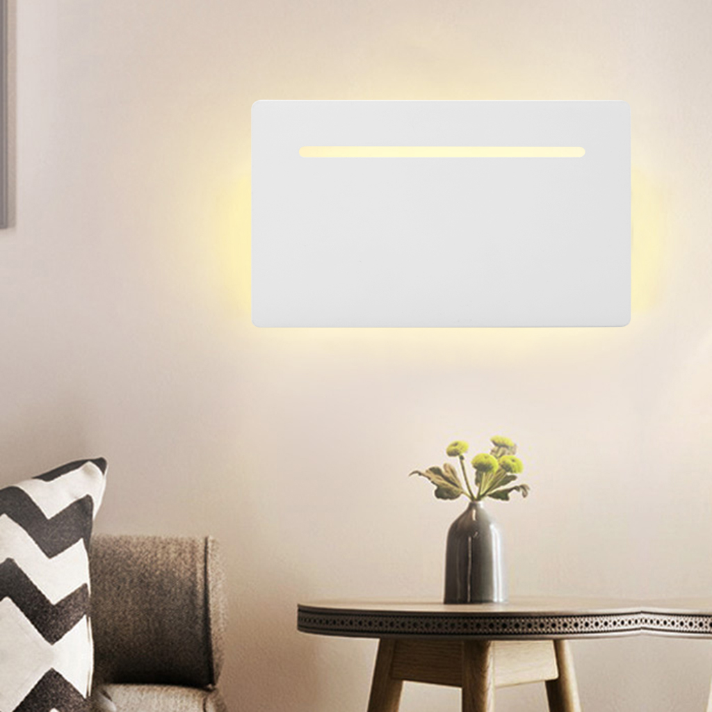 Excelvan 5W Flat Wall Sconce Ceiling Light Wall Lamp Night Light by