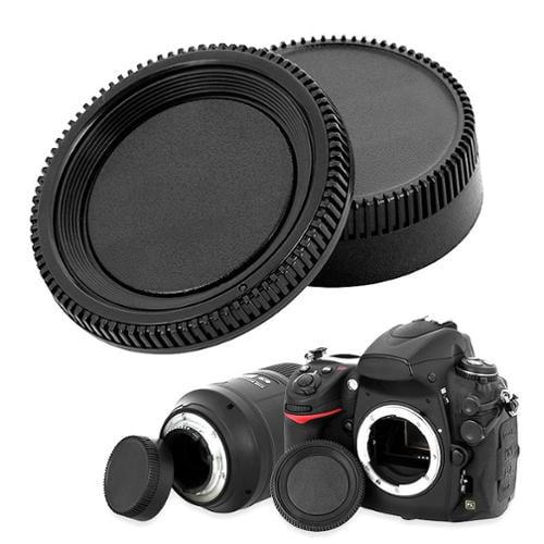 Insten Rear Lens Cover Cap + Camera Body Cap for Nikon D-Series D3000 DSLR D300S D7000