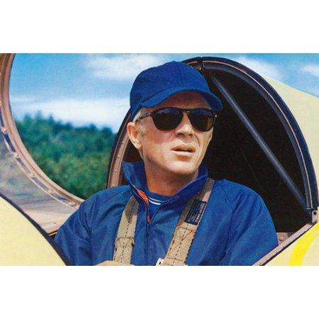 Steve McQueen The Thomas Crown Affair in Glider 24x36 (Steve Mcqueen Thomas Crown)