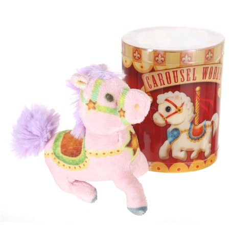 Giftable World CW01 Plush Carousel Horse - Assorted Color