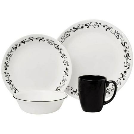 Corelle Livingware Garden Getaway 16 Piece Dinnerware Set