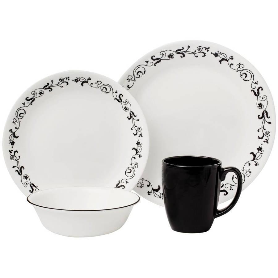 Corelle Livingware Garden Getaway 16-Piece Dinnerware Set
